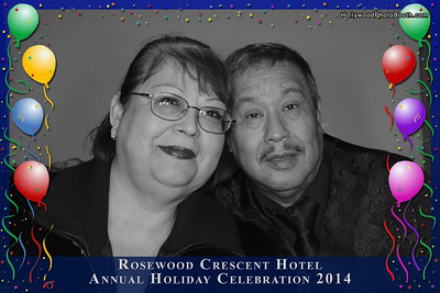Rosewood Hotel Holiday Party
