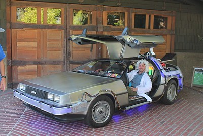 Gamble House goes Back to the Future