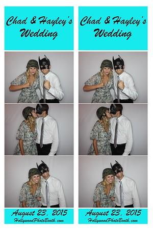 Hayley and Chad's Wedding 2015