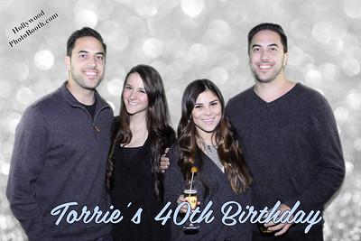 Torrie's 40th Birthday